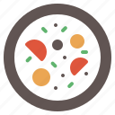 appetizer, bowl, food, hot, soup icon