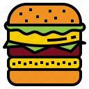 beef, burger, hamburger icon