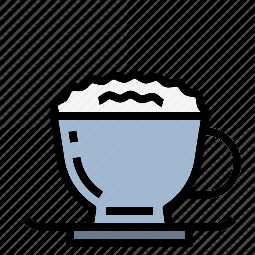 cappuccino, coffee, espresso icon