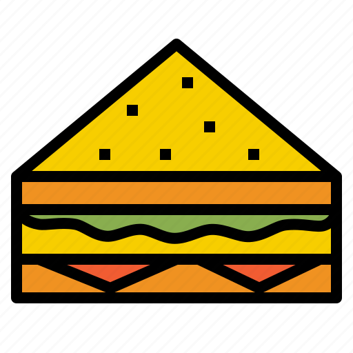 fastfood, sandwich icon