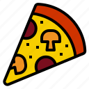 italianfood, pizza icon