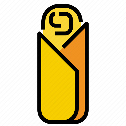 kebab, snack icon