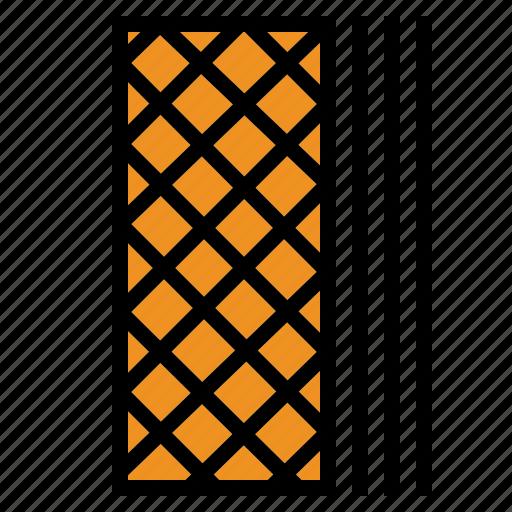 Wafer, waffle icon