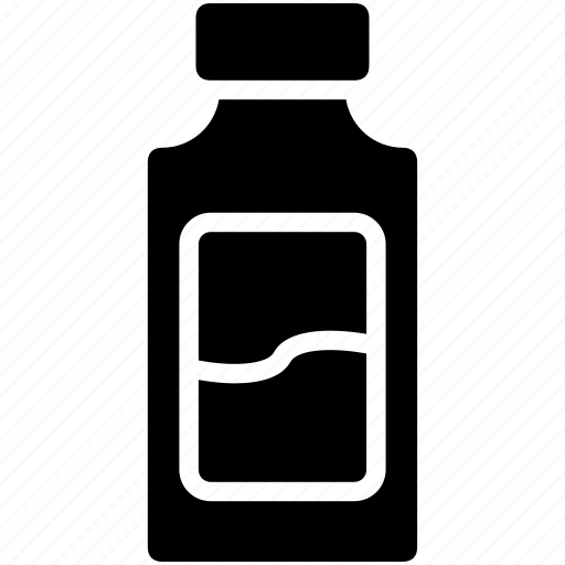 bottle, dairy, drink, food, milk icon