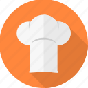 cap, chef, chef hat, cook, cooker, kitchen, restaurant icon