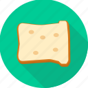 bread, breakfast, food, sandwich, slice icon
