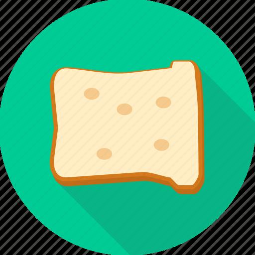 bread, breakfast, food, sandwich, slice icon