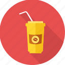 beverage, cocktail, cold drink, drink, juice, sip, straw icon