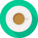 beverage, coffee, cup, drink, mug, saucer, tea icon