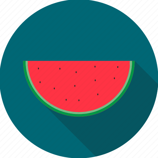 food, fruit, melon, water melon, watermelon icon