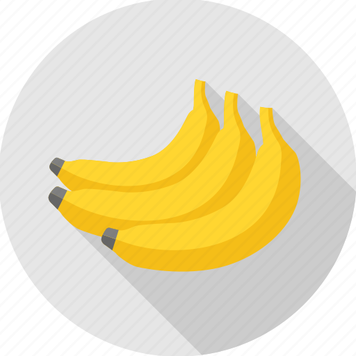 banana, food, fruit, health food icon