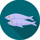 animal, fish, meal, sea food, seafood, sushi icon