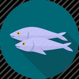 animal, fish, meal, sea food, seafood, sushi icon