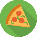 eat, fast food, food, pizza, pizza slice, snack, snacks icon