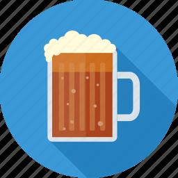 alcohol, bear, beverage, cup, drink, mug, wine icon