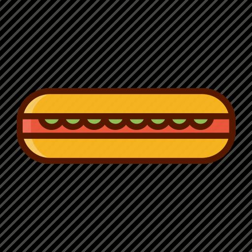 beverage, dessert, food, hot dog, menu icon