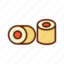 beverage, dessert, food, menu, sushi icon