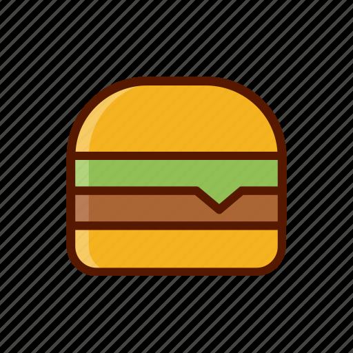 beverage, burger, dessert, food, hamburger, menu icon
