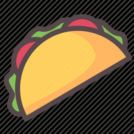 american, food, mexico, tacos icon