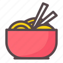 asian, food, japanese, noodles icon