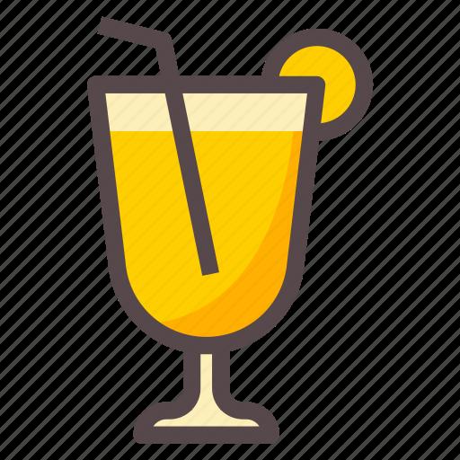 Drink, juice, lime, orange icon - Download on Iconfinder