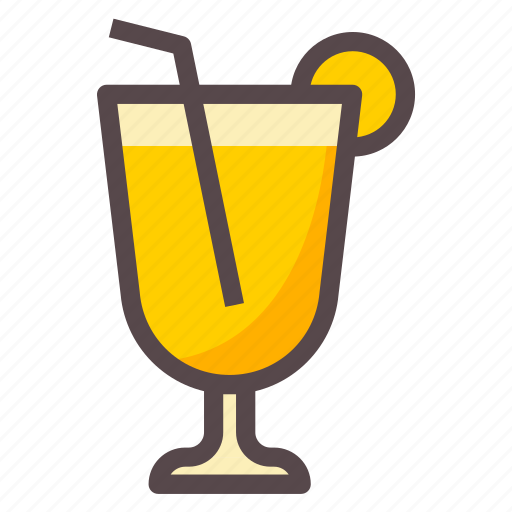 drink, juice, lime, orange icon
