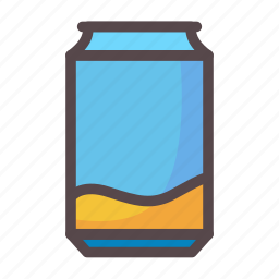 can, cola, drink, soda icon