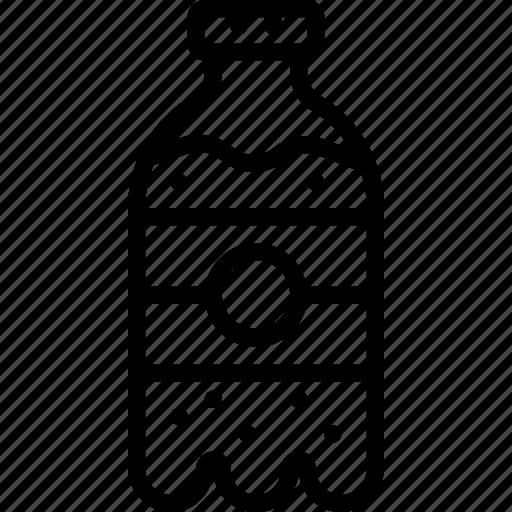 bottle, drink, fizzy, food, pop, soda icon