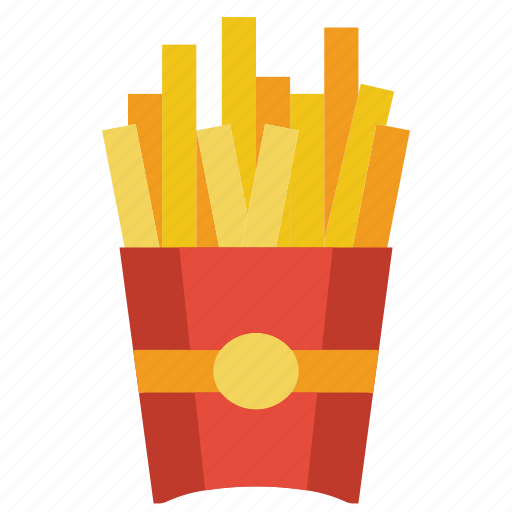 and, chips, drink, food, french, fries, takeaway icon