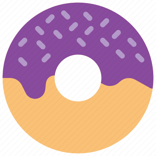 and, dessert, doughnut, drink, food, iced, pudding icon
