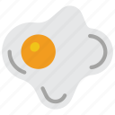 and, food, drink, breakfast, fried, egg icon