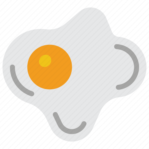 and, breakfast, drink, egg, food, fried icon