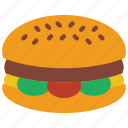 and, burger, cheese, cheeseburger, drink, food, ham icon