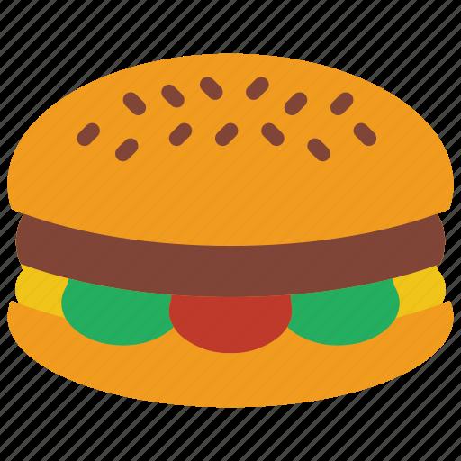 and, burger, cheese, cheeseburger, drink, food, ham icon
