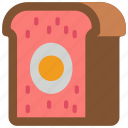 and, pork, snack, meat, food, drink, pie icon