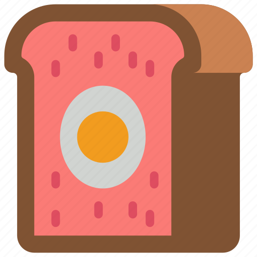 and, drink, food, meat, pie, pork, snack icon
