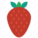 and, food, drink, fruit, strawberry, strawberries, berry icon