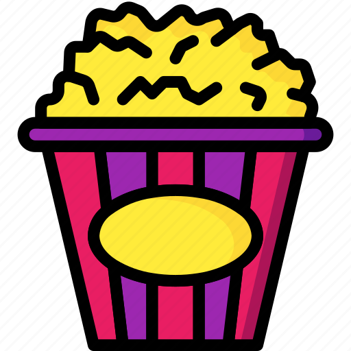 And, cinema, drink, food, movie, popcorn, snack icon - Download on Iconfinder
