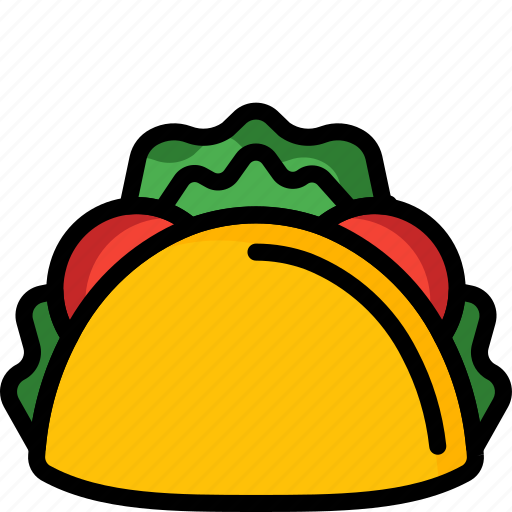 And, drink, food, mexican, sandwich, taco, wrap icon - Download on Iconfinder