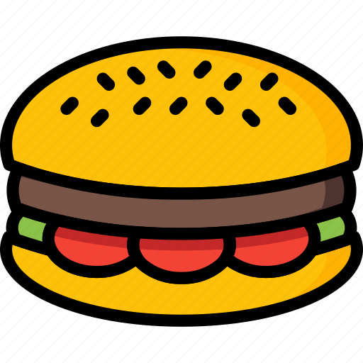 and, burger, drink, food, pounder, quarter, takeaway icon
