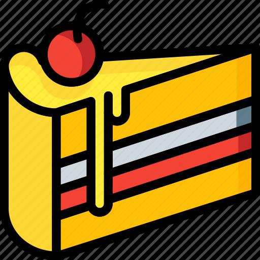 And, cake, dessert, drink, food, pudding, slice icon - Download on Iconfinder