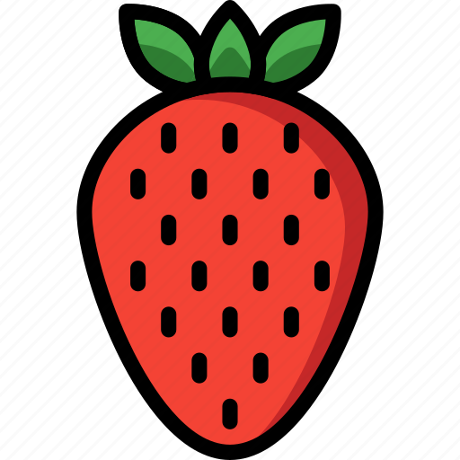 and, berry, drink, food, fruit, strawberries, strawberry icon