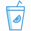 drink, food, icon, juice, set, vol icon