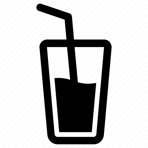 beverage, drink, glass icon