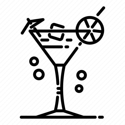 cocktail, cold drink, drink icon