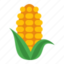 corn, drink, food icon
