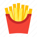 drink, food, french fries icon