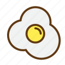 cook, cooking, dessert, egg, food, meal, restaurant icon