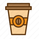 beverage, coffee, cup, drink, food, sweet icon