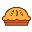 cake, food, meal, pie, snack, sweet icon